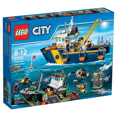 LEGO® City Deep Sea Explorers Exploration Vessel 60095 - image 1 of 12