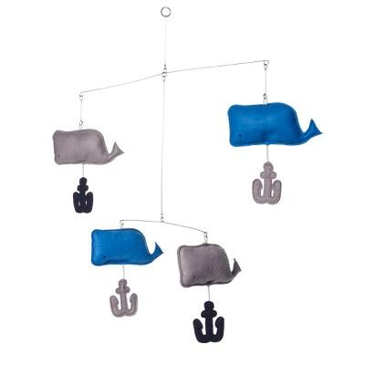 Hanging Décor Whales - Cloud Island™ Blue