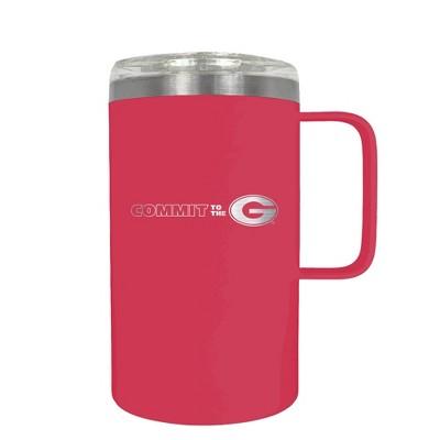 NCAA Georgia Bulldogs 18oz Hustle Travel Mug