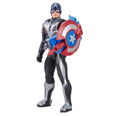 cd425d9fc2d9 Marvel Avengers  Endgame Titan Hero Series Captain America Action Figure