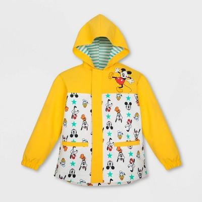 Boys' Disney Fab 4 Rain Jacket - Yellow - Disney Store