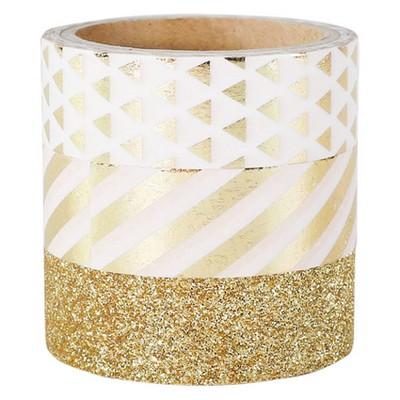 3ct Washi Tape Gold - Spritz™