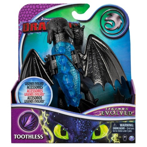 Toothless How to Train Your Dragon Legends Evolved 2 Figure