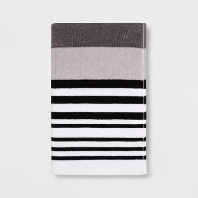 Century Striped Multi Printed Hand Towel Beige - Room Essentials™