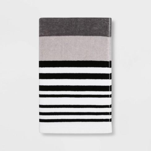 Century Striped Multi Printed Hand Towel - Room Essentials™ - image 1 of 2