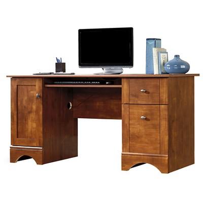 Computer Desk - Brushed Maple - Sauder