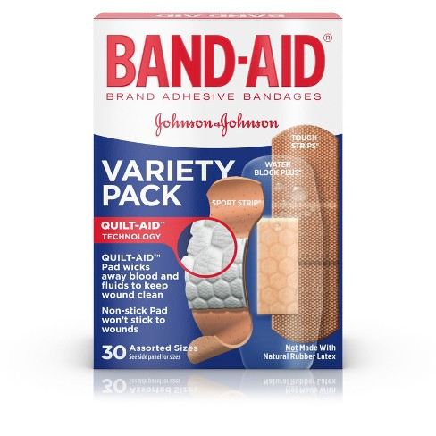 Band-Aid® Variety Pack - 30ct - image 1 of 9