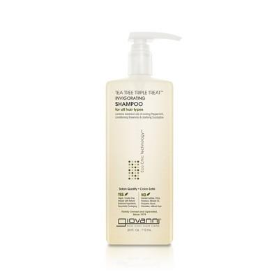 Giovanni Eco Chic Triple Treat Shampoo - Tea Tree - 24 fl oz