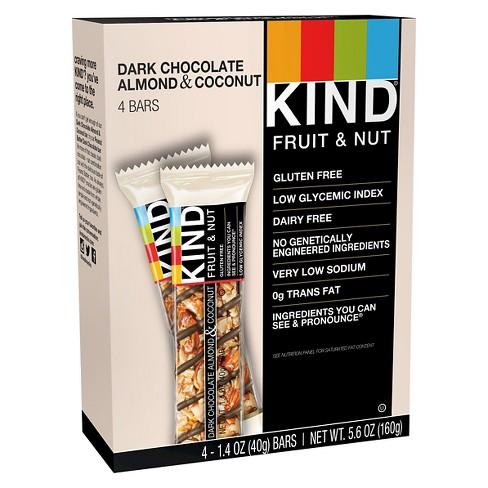 KIND Dark Chocolate Almond & Coconut Bars - 4ct - image 1 of 3