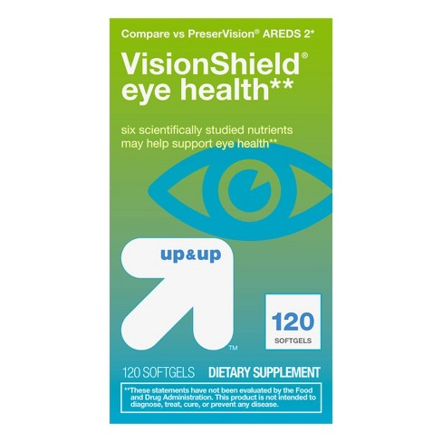 VisionShield Eye Health Mini Softgels - 120ct - Up&Up™ - image 1 of 4