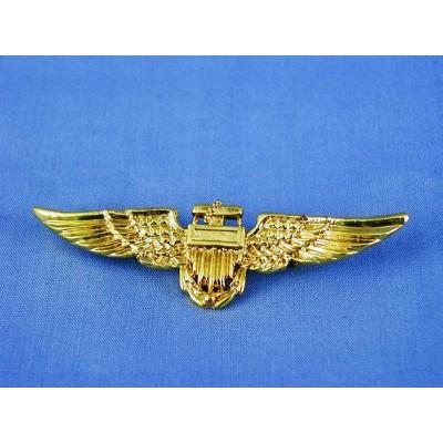 HMS Aviator Pilot Costume Accessory Pin - Gold
