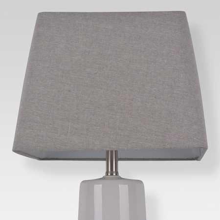Printed Drum Lamp Shade Tan Threshold
