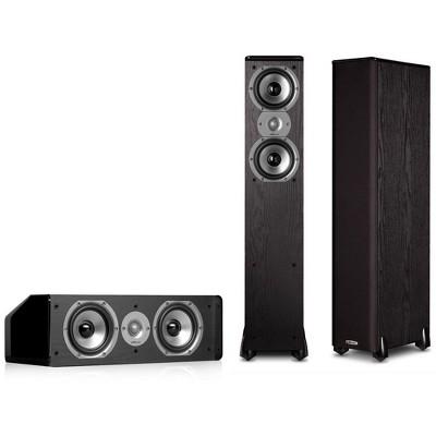 Polk Audio TSi300 3.0 Home Theater Speaker Package (Black)