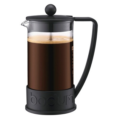 Bodum 8 Cup French Press Coffee Maker - Black