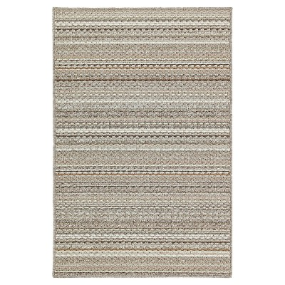Garland Carnival Stripe Area Rug - Earth (5'X7')Colors may vary