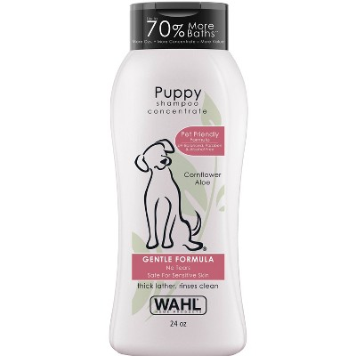Wahl Puppy Gentle Formula Baby Fresh Shampoo Concentrate - 24oz
