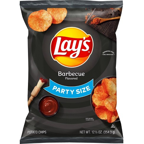 Lay's Barbecue Flavored Potato Chips - 12.50oz - image 1 of 3