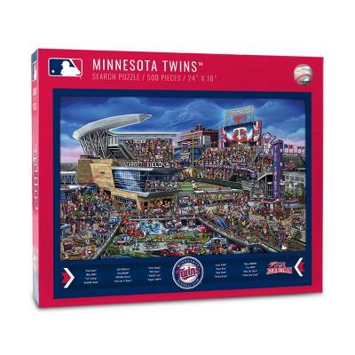 MLB Minnesota Twins 500pcs Find Joe Journeyman Puzzle