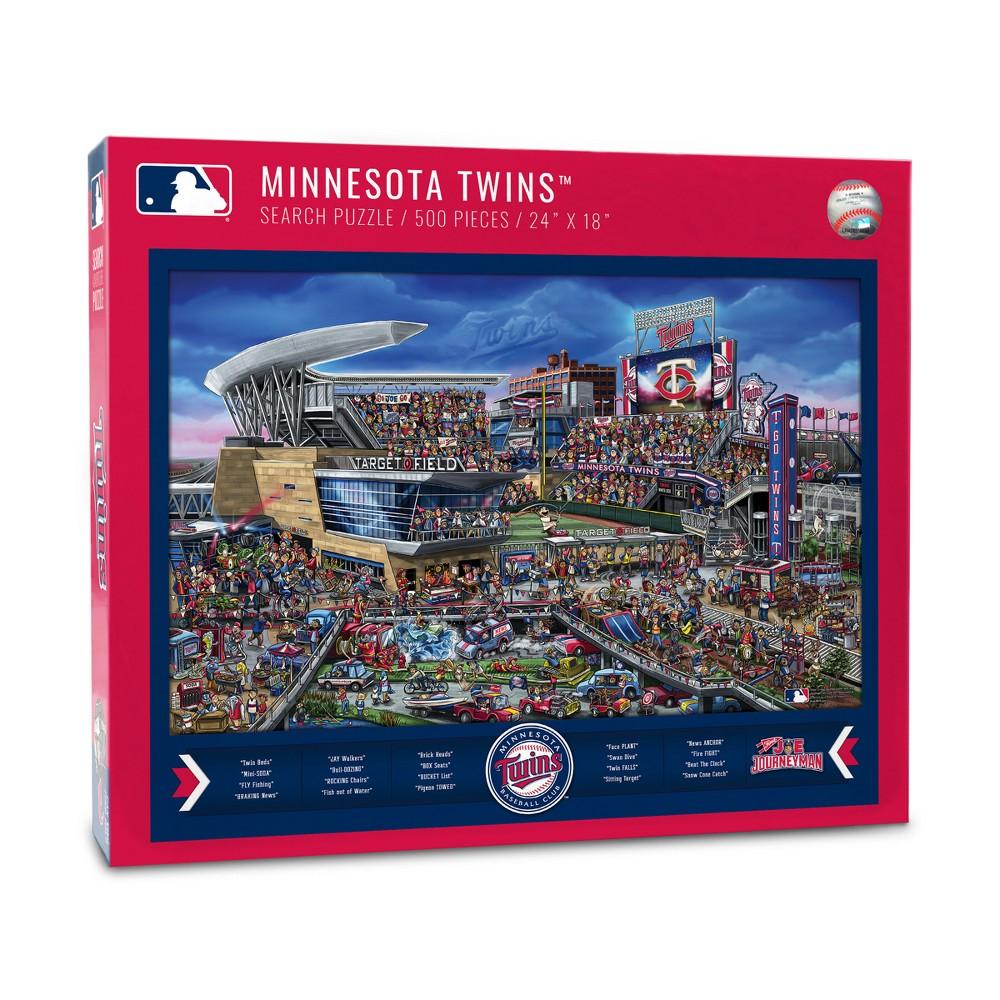 Minnesota Twins Find Joe Journeyman Puzzle 500pcs