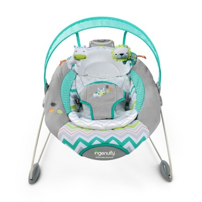 Ingenuity Smart Bounce Automatic Baby Bouncer - Ridgedale