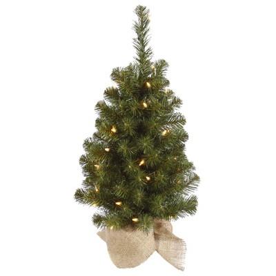 Vickerman Felton Pine Tabletop Artificial Christmas Tree