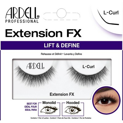 Ardell False Eyelashes Extension FX L- Curl Lash - 1pr