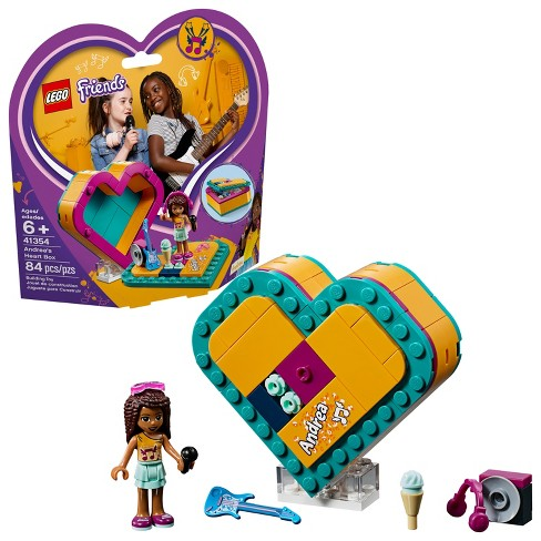 Lego Friends Andreas Heart Box 41354 Target