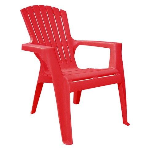 Kids Adirondack Chair Red Adams Target