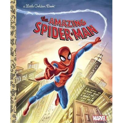 The Amazing Spider-Man (Marvel: Spider-Man) - (Little Golden Book) by  Frank Berrios (Hardcover)