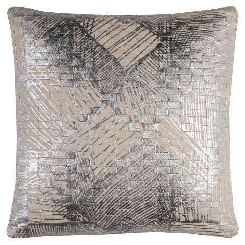 152139353f26 Rizzy Home Textured Foil Print Abstract Diamonds   Target