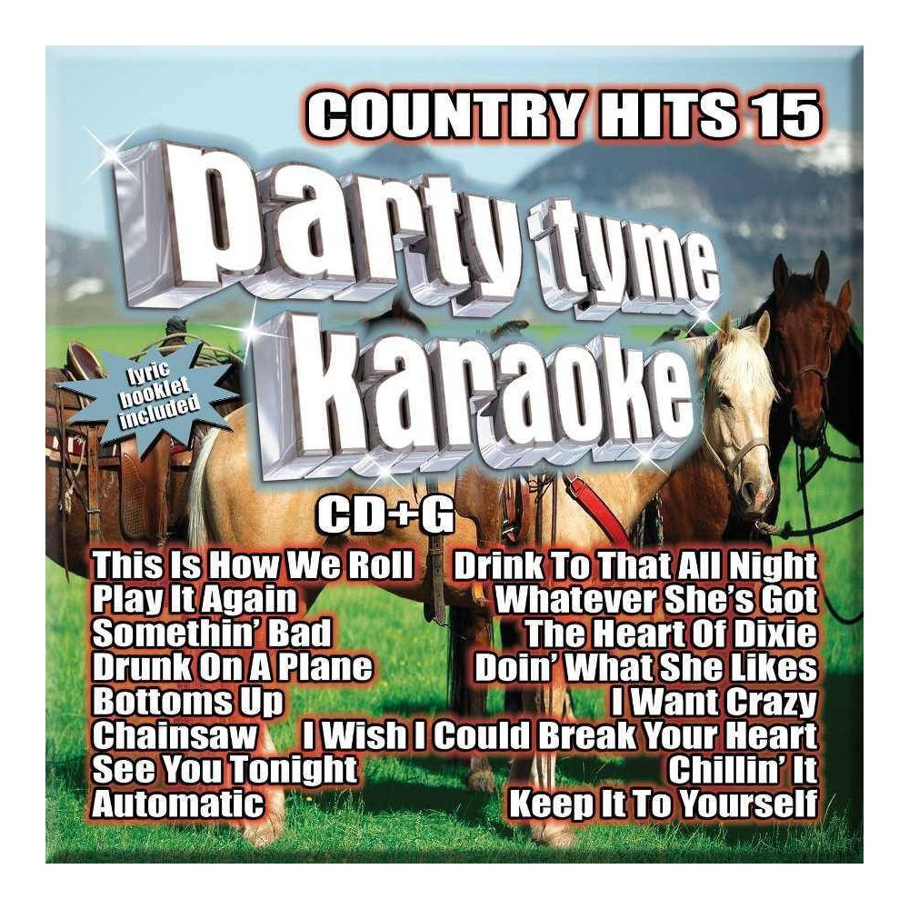 Various - Party Tyme Karaoke: Country Hits 15 (CD) Cheap