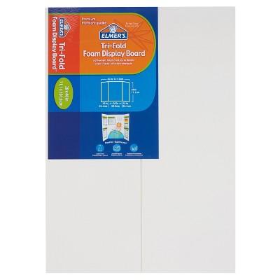 "Elmer's 28"" x 40"" Tri-Fold Foam Presentation Board - White"