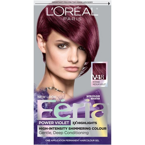 Loreal Paris Feria Multi Faceted Shimmering Color V48 Power