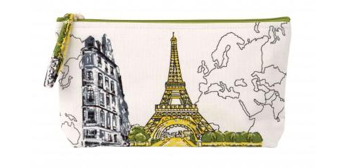 Paris Eiffel Tower Handmade Pouch (Book) - image 1 of 1