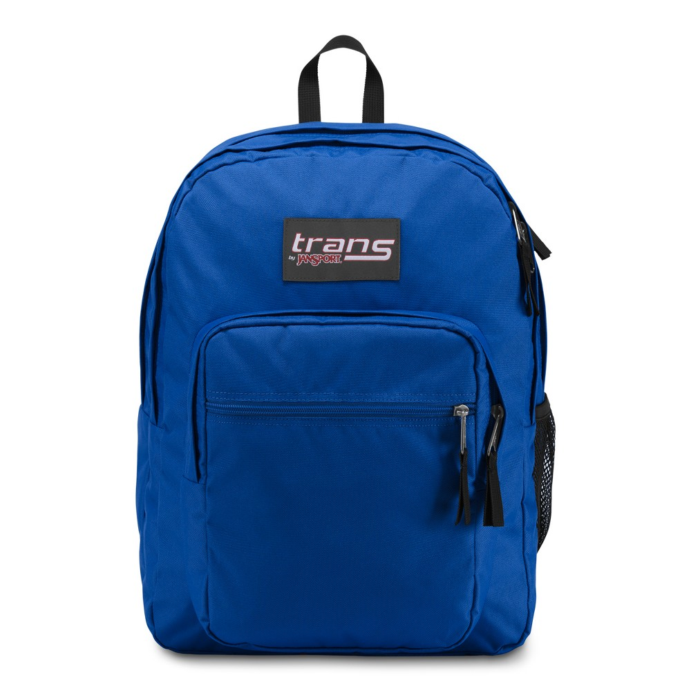 Trans by JanSport 17 SuperMax Backpack - Border Blue, Gray Stripe