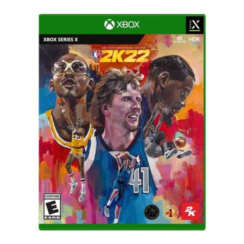 NBA 2K22: 75th Anniversary Edition - Xbox Series X - image 1 of 4
