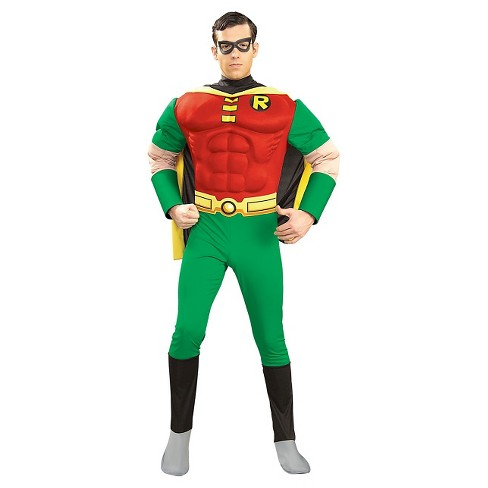DC Comics Men's Robin Muscle Costume - image 1 of 1