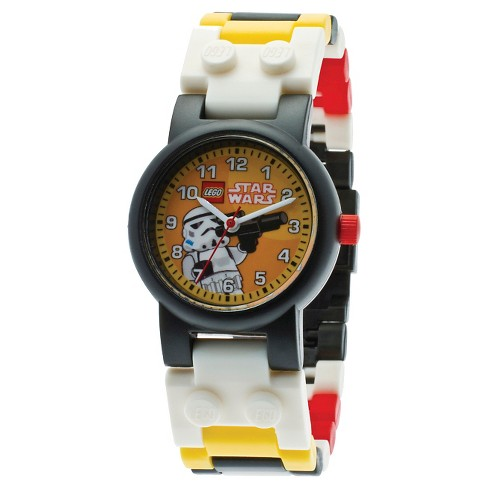 Boys' LEGO Star Wars Storm Trooper Watch with Mini Figure - image 1 of 5