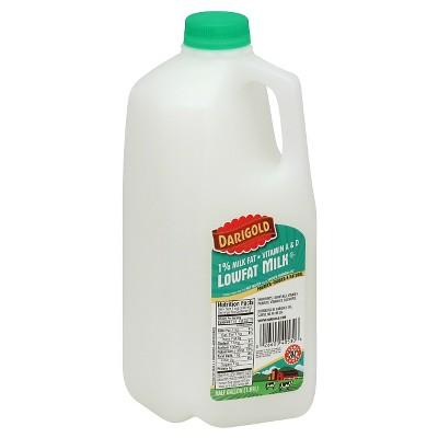 Darigold 1% Milk - 0.5gal
