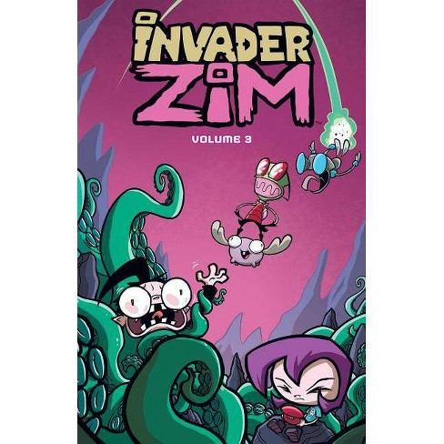 Invader Zim Vol. 3 - by  Jhonen Vasquez & Eric Trueheart (Paperback) - image 1 of 1