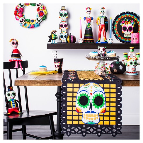 Day Of The Dead Skull Wall Decoration Hyde And Eek Boutique Target