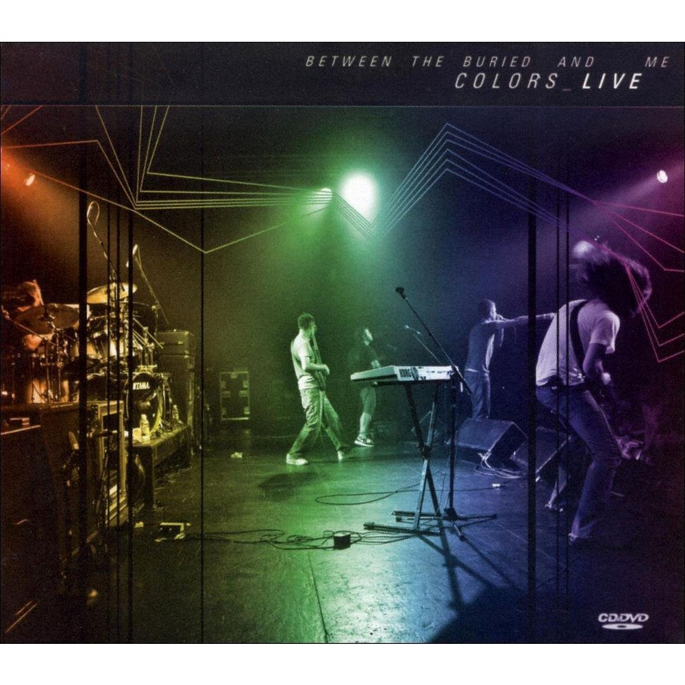 Between The Buried A - Colors Live (CD)