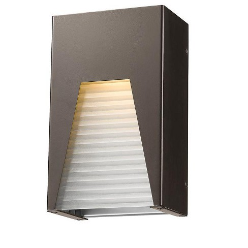 """Z-Lite 561S-DBZ-SL-FRB-LED Millenial Single Light 10"""" High Integrated LED Outdoor Wall Sconce - image 1 of 1"""