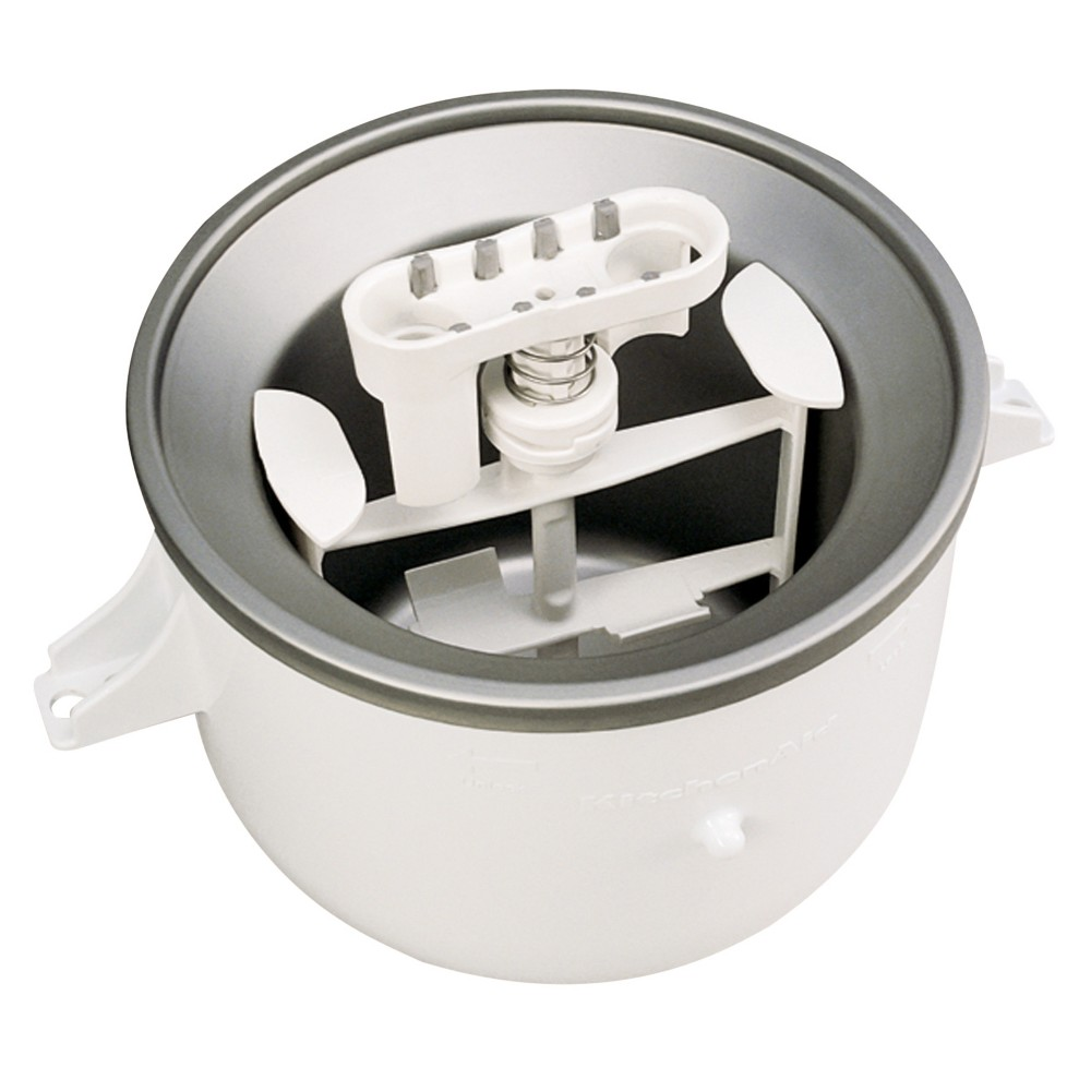 KitchenAid Ice Cream Maker Attachment- KICA0WH, White 574499