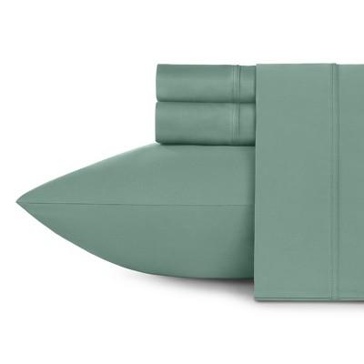 600 Thread Count Cotton Sheets - Cooling Sateen Weave Sheet Set, Deep Pocket Ultra Soft Bedding - California Design Den
