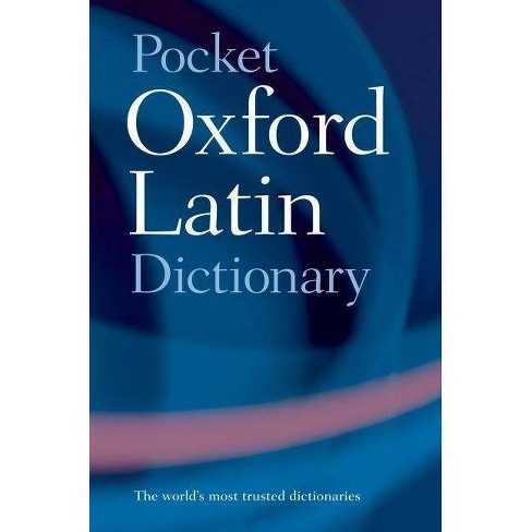Pocket Oxford Latin Dictionary - 3 Edition (Paperback) - image 1 of 1