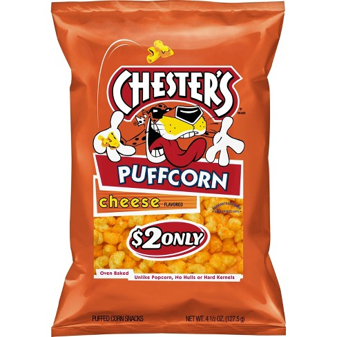 Chester's Puffcorn Cheese Puffed Corn Snacks - 5.5oz - image 1 of 2