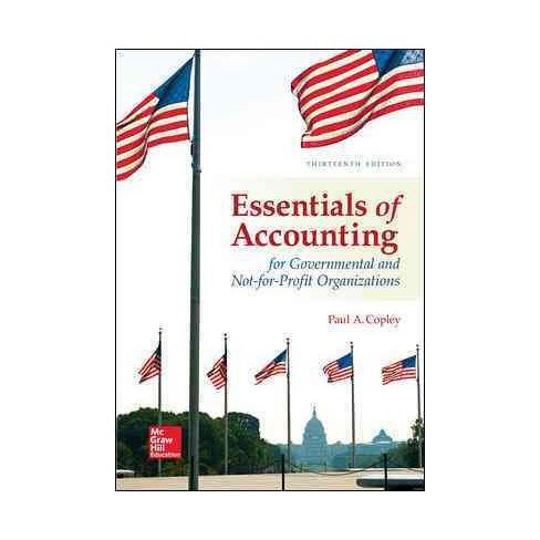 Essentials Of Accounting For Governmental And Not For Profit
