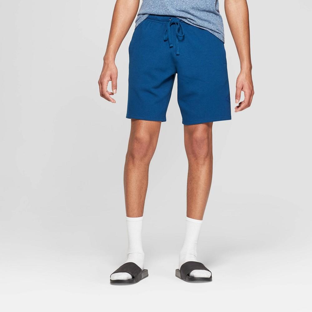 Umbro Men's Fleece Shorts - Poseidon Blue XL