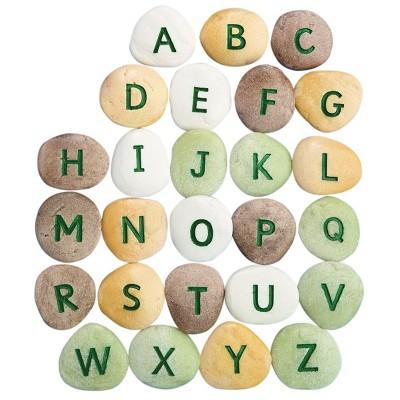 Yellow Door Uppercase Alphabet Pebbles